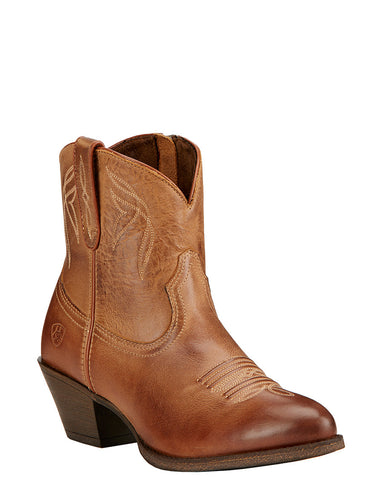 Womens Darlin Ankle Boots - Burnt Sugar