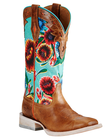 Womens Circut Champion Floral Boots