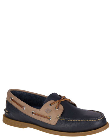 Men's Authentic Original Cross Lace Boat Shoes - Navy