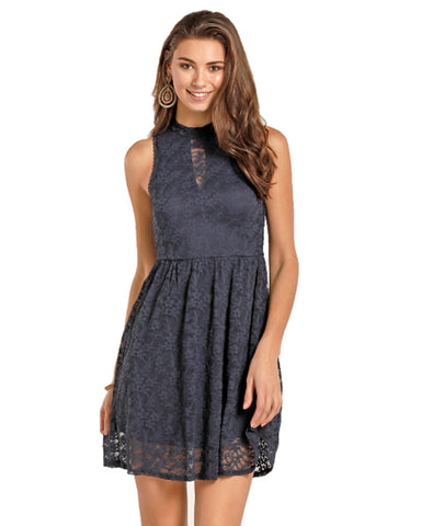 Women's Lace Flare Dress