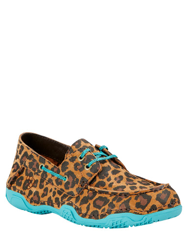 Womens Caldwell Leopard Print Casual Shoes