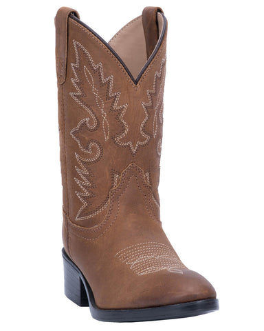 Toddlers Shane Western Boots - Brown