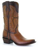Men's Embroidery Studded Western Boots