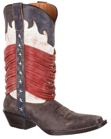 Women's Dream Catcher Americana Fringe Boots