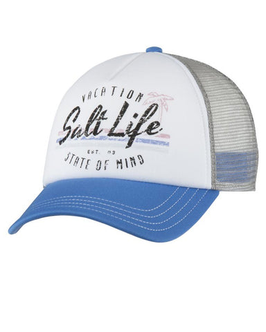 Salt Life Vacay State Of Mind Ball Cap - Chambray