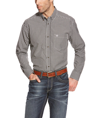 Men's Tristian Performance Plaid Shirt