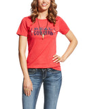 Womens Relentless REAL Cowgirl T-Shirt