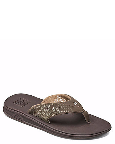 Mens Rover Flip-Flops - Brown