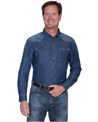 Men's Denim Signature Series Western Shirt