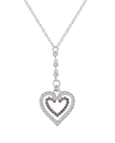 Filling Up On Love Heart Necklace