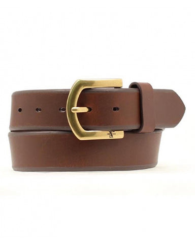 Men's HD Plain Leather Belt