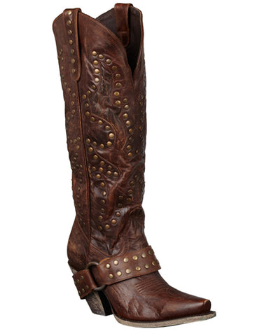 Women's Stud Rocker Boots