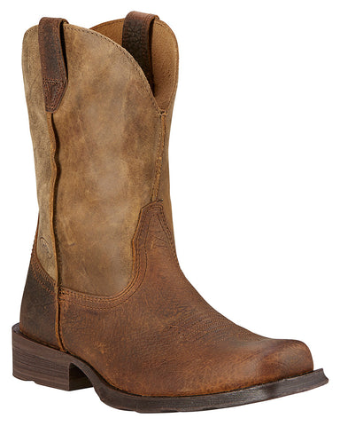 Mens Rambler Square Toe Boots
