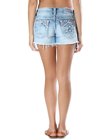 Womens Giorgia Patriotic Shorts