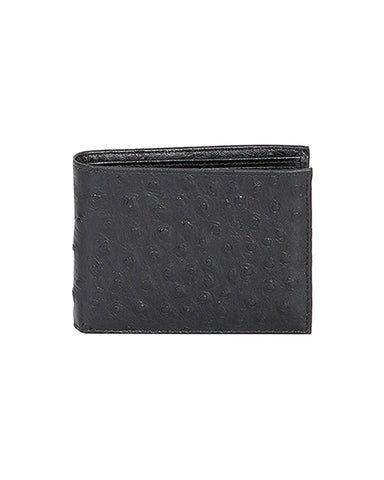 Men's Billfold Ostrich Wallet