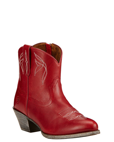 Women's Darlin Ankle Boots - Rosy Red