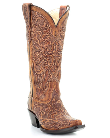 Women's Tooled Boots