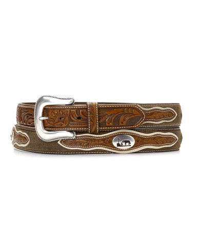 Men's Cowboy Prayer Concho Belt