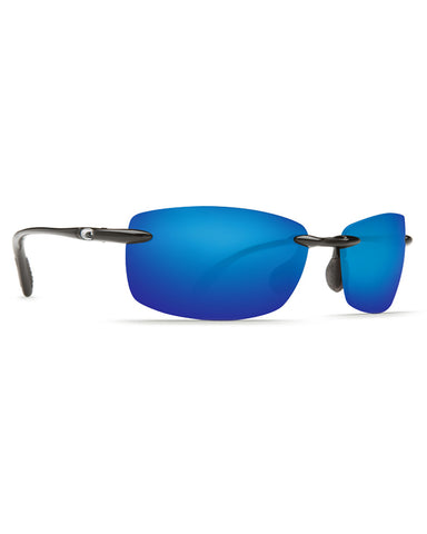 Ballast Rimless Blue Mirror Sunglasses