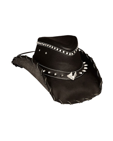 Bullhide Iron Road Leather Hat