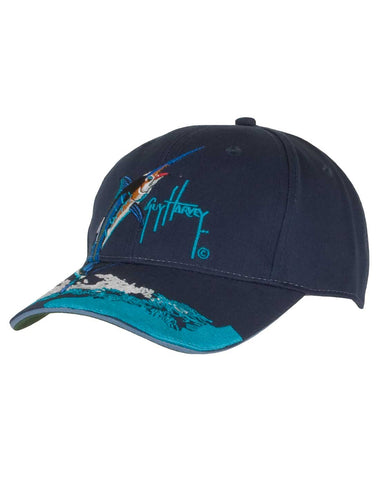 Guy Harvey's Jumping Marlin Ball Cap