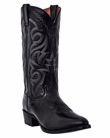 Mens Western R Toe Boots