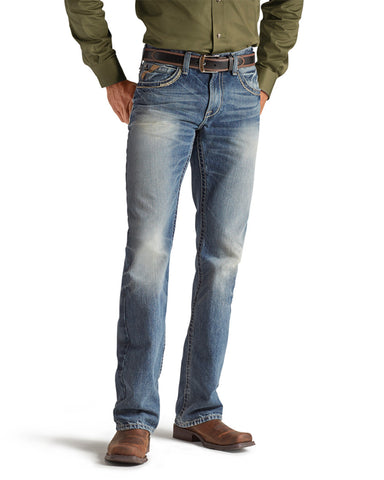 Mens M5 Low-Rise Gambler Jeans
