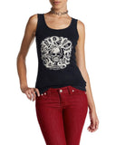 Womens Easy Riders Circle Tank Top