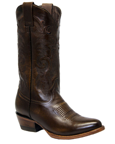 Mens Imperial Leather Boots - Brown