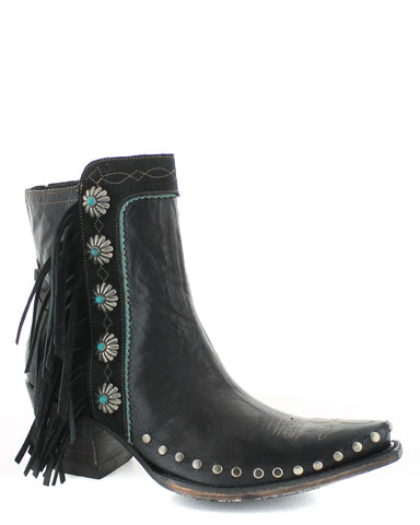 Womens Apache Kid Short Boots