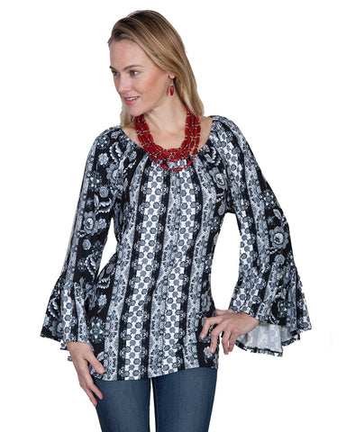 Womens Peasant Blouse