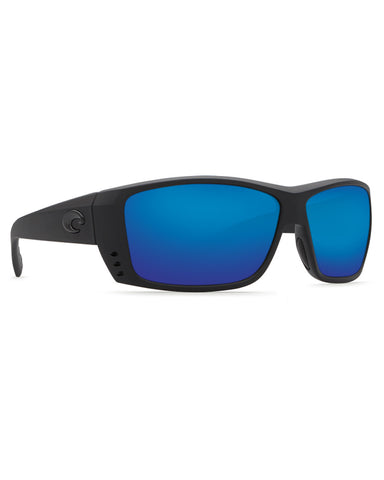Cat Cay Blue Mirror Sunglasses
