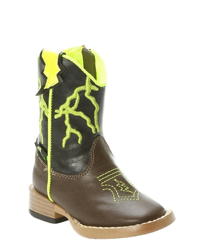 Kid's Ace Lightening Bolt Boots