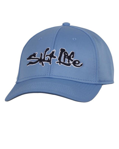 Salt Life Technical Signature Ball Cap - Chambray