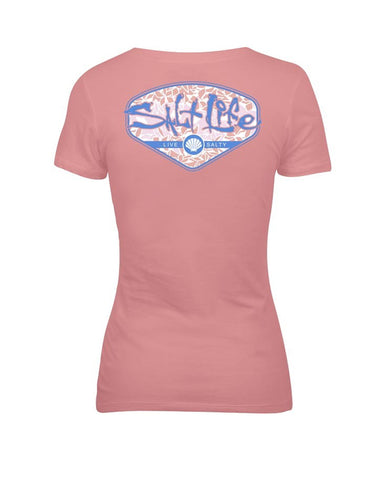 Women's Tropescado Shell V-Neck Shirt