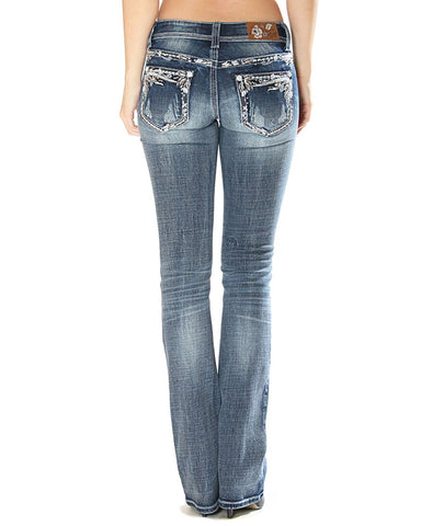 Women's Catkins Embroidered Jeans