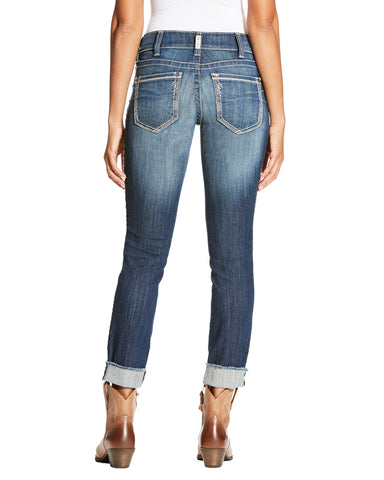 Women's R.E.A.L Fray Skinny Jeans