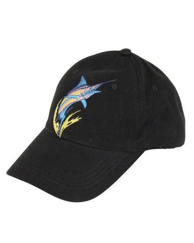 Guy Harvey's Tropo Ball Cap - Black