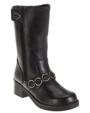 "Womens Helen 11"" Motorcycle Boots"
