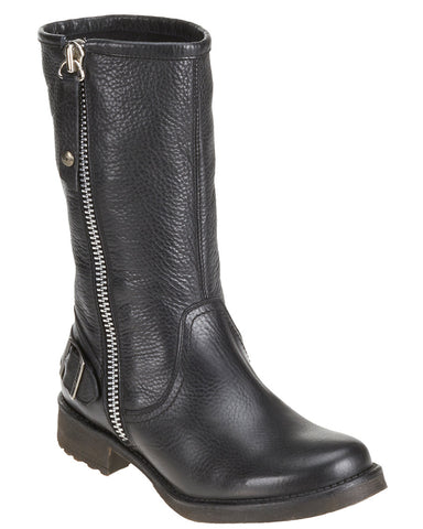 "Womens Baisley 10.5"" Outside Zip Boots"
