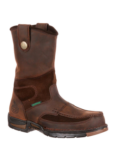 Mens Athens Waterproof Pull-On Boots
