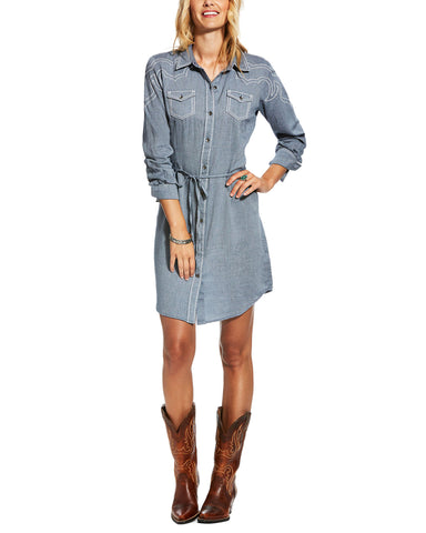 Women's Bergen Denim Twill Dress