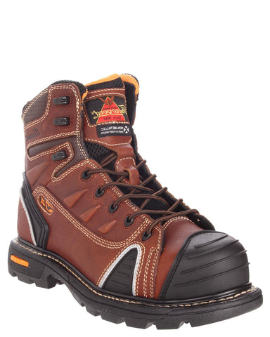 "Mens GenFlex 6"" Composite-Toe Lace-Up Boots"