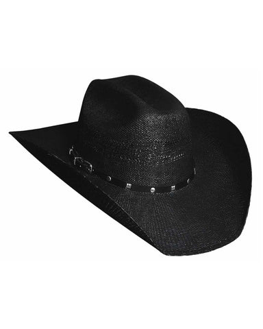 Bullhide Black Arrow 20X Bangora Straw Hat