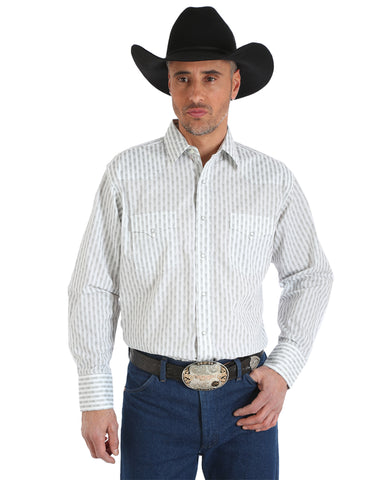 Men's Silver Edition Long Sleeve Western Shirt