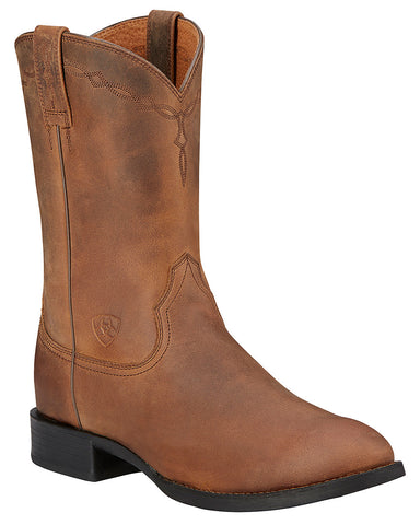 Mens Heritage Roper Pull-On Boots