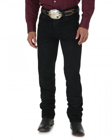 Mens Cowboy Cut Slim Fit Jean - Black