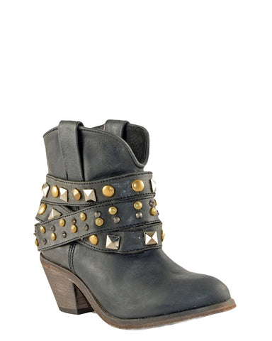 Women's Studded Short Boots