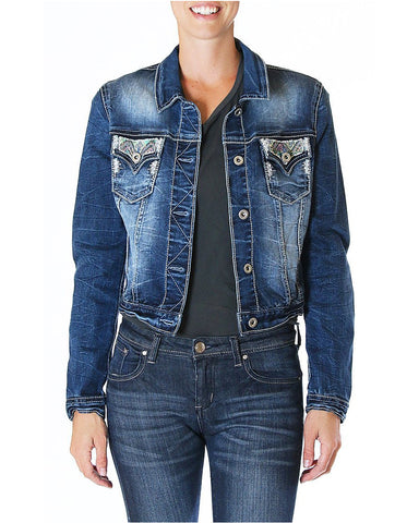 Womens Abbie Denim Jacket