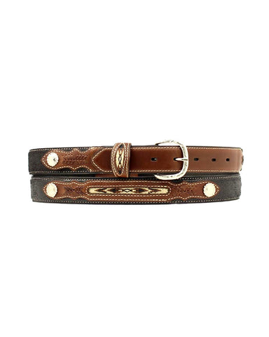 Kid's Leather Belt - Black